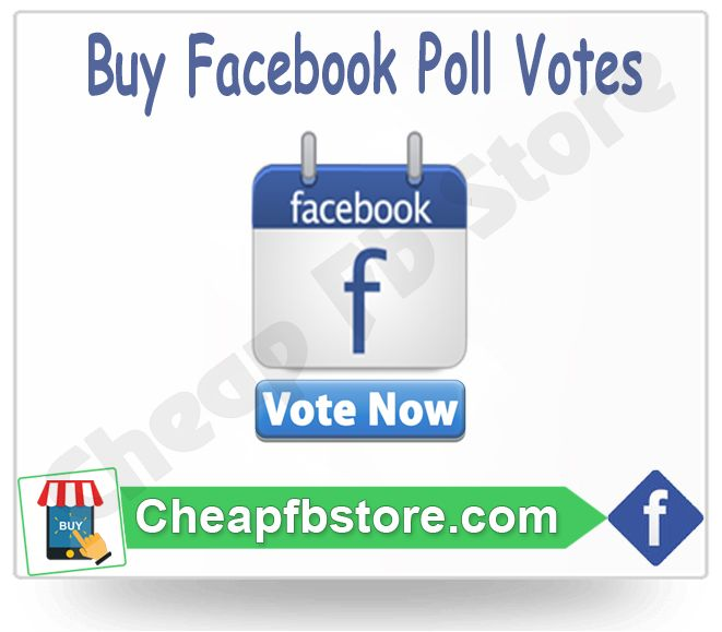 Buy Facebook Poll Votes