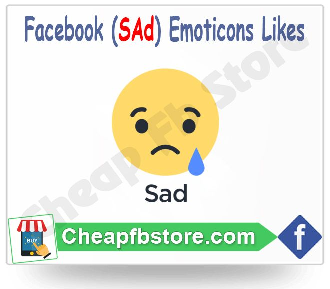 Buy Sad Facebook Emoticons Post Likes